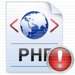 PHP Klaidų pranešimai